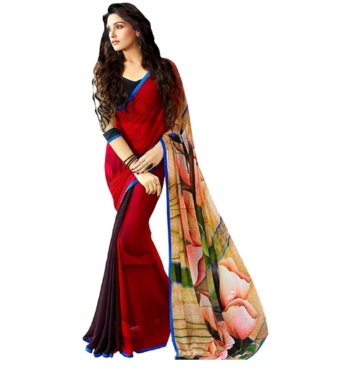 99BestSales: Best Printed Sarees Collections for Women and Girls
