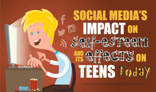 "the issue of self esteem in teenagers today Cmi discusses how social media can make teens self-conscious and insecure,   ""social media alone is unlikely to be at the heart of the issue, but it can make a."