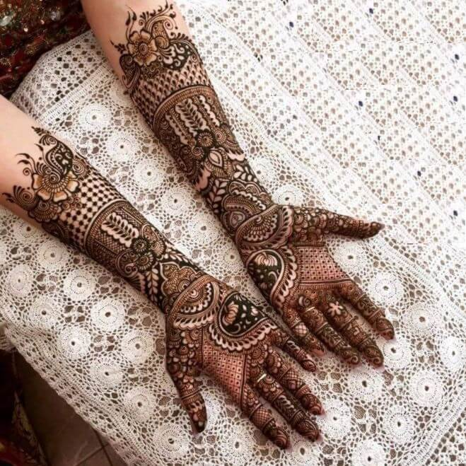 Latest Mehandi Designs 2019 Images