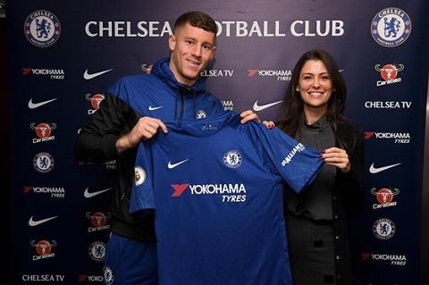 Ross Barkley chính thức cập bến Chelsea