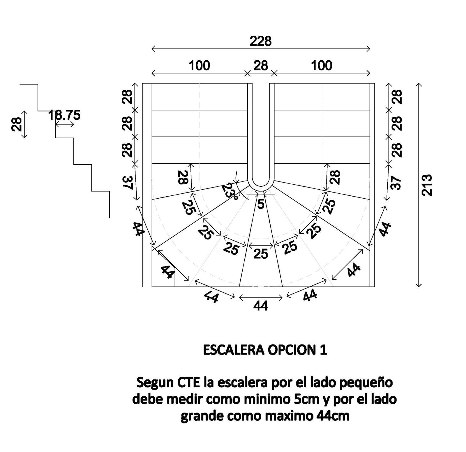 Blogdelaunion c digo t cnico 1149 validez de escalera for Planos de escaleras en u