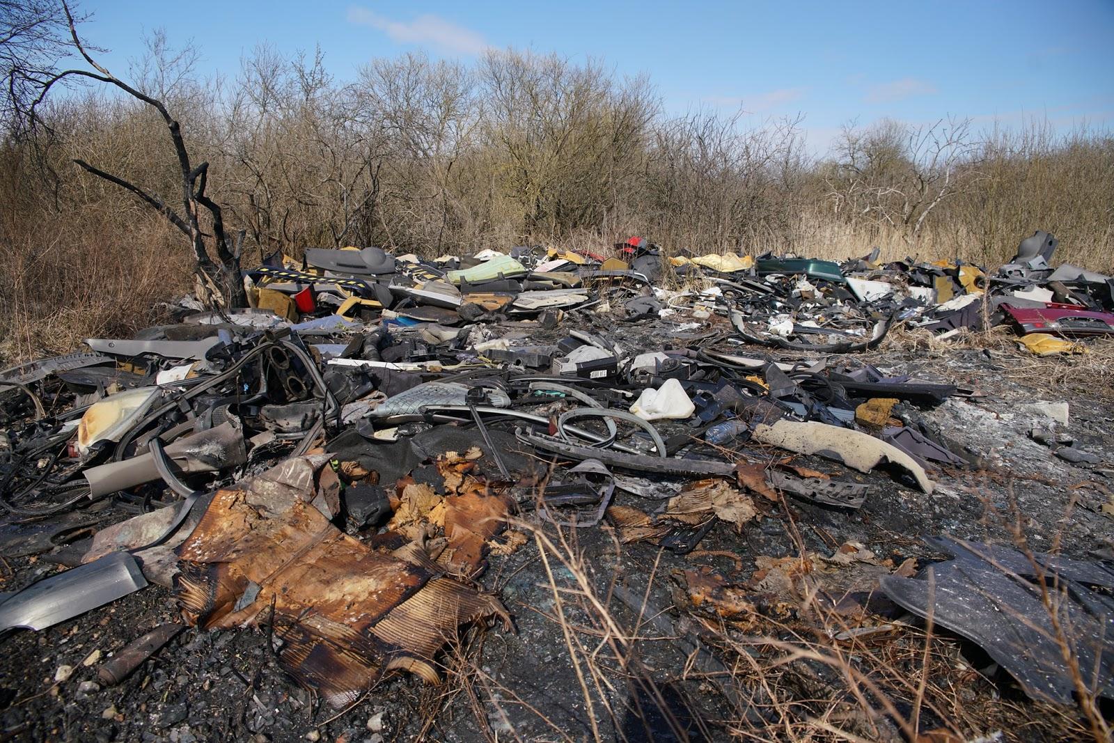 Apdegušie atkritumi