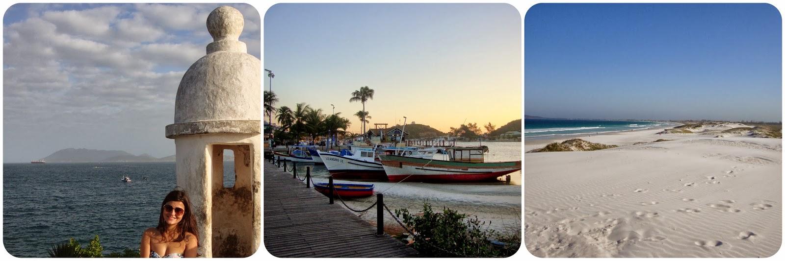 Região dos Lagos / Rio de Janeiro / Cabo Frio / Praia do Forte / Boulevard Canal / Dunas de Cabo Frio