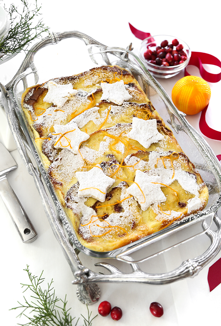 Panettone Baked French Toast Sprinkle Bakes