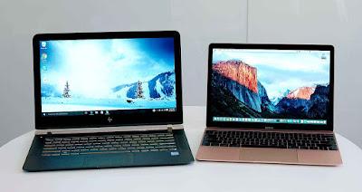 El tamaño y la capacidad de procesamiento es la diferencia, la notebook es una laptop empobrecida