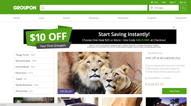 Shop for All Your Favorite Brand and Save Money With Groupon Coupons
