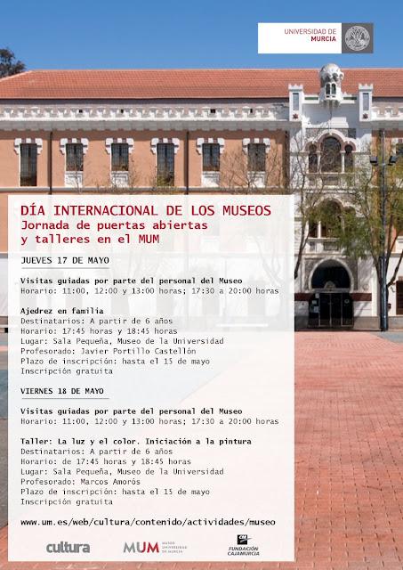 Día Internacional de los Museos en la UMU