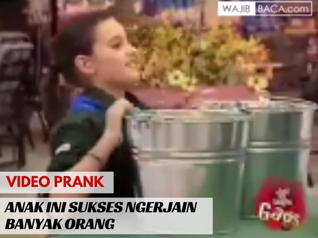 Video Lucu : PRANK! Anak Perempuan Ini Bikin Jebakan dan Sukses Ngerjain Orang Dewasa