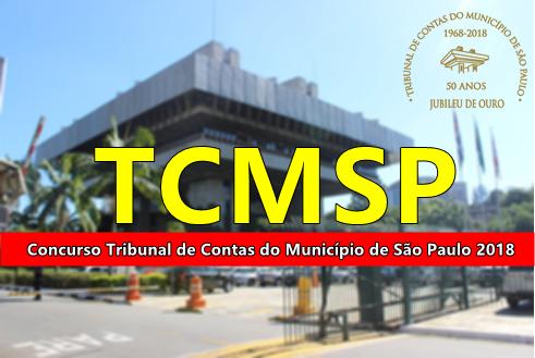 Apostila Tribunal de Contas do Município SP 2018