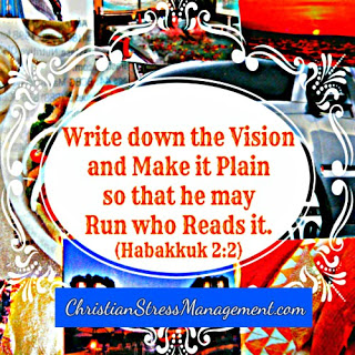 Write the vision and make it plain so that he may run who reads it Habakkuk 2:2
