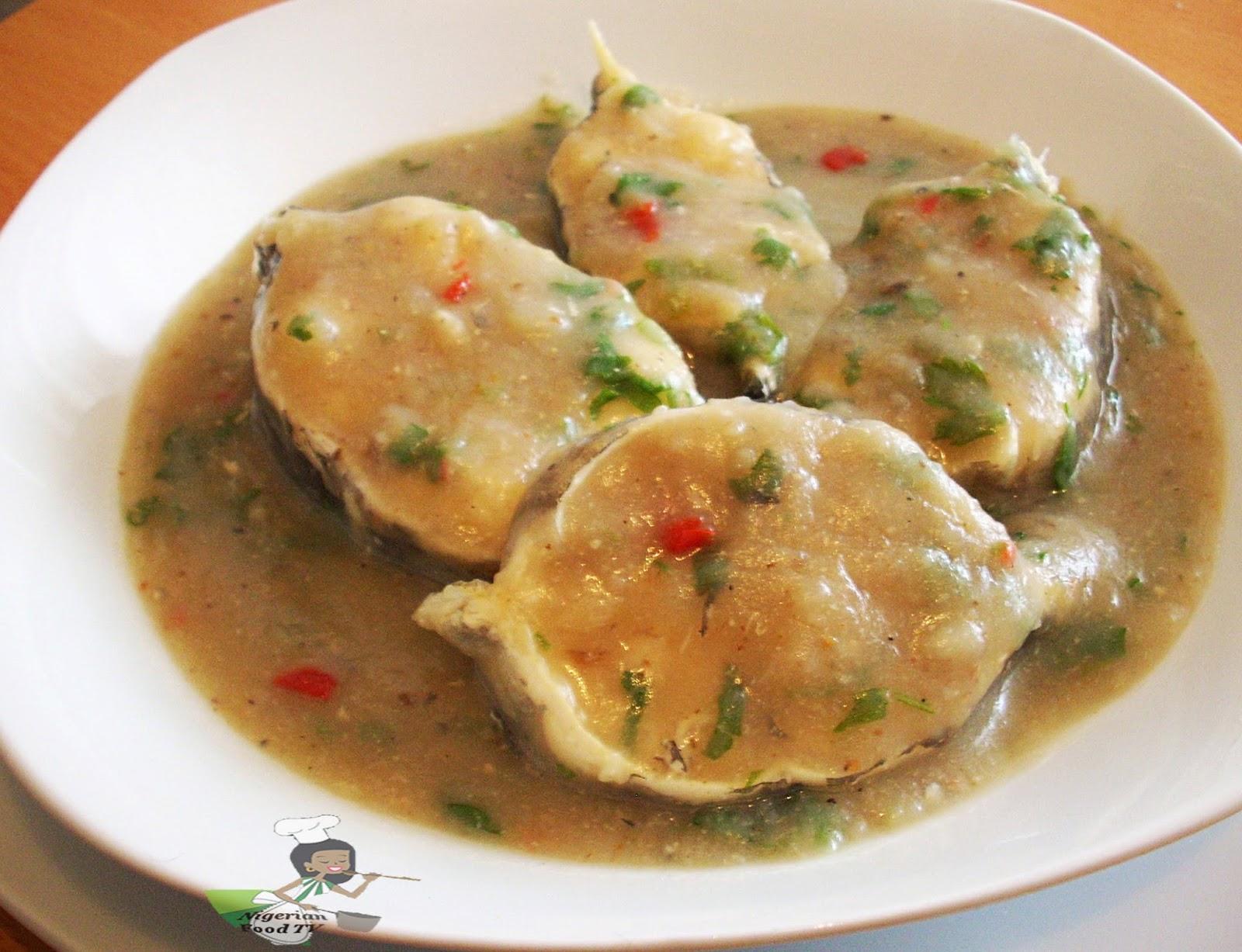 nsala soup, ofe nsala , nigerian white soup