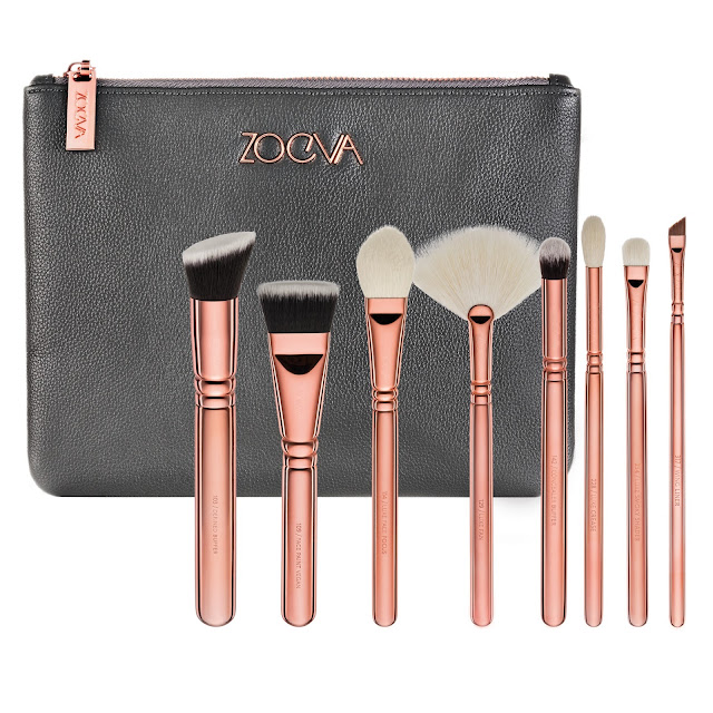 zoeva golden rose luxury set vol3.
