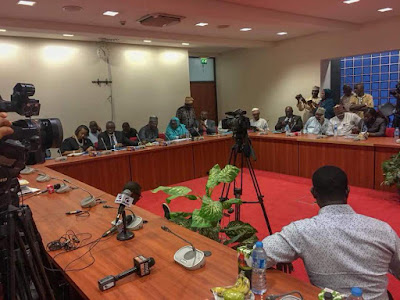 Highlights of the Senate Committee Meeting with the INEC Chairman