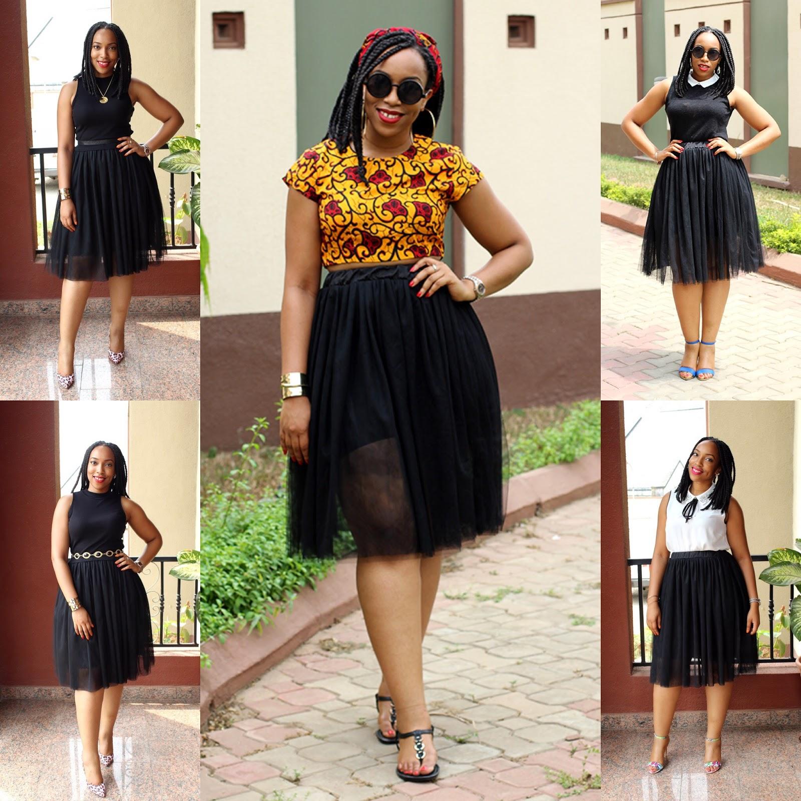 1 Skirt 5 Ways The Chameleon Blogger