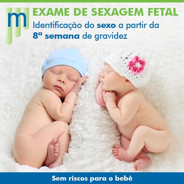 Exame de sangue de sexagem fetal