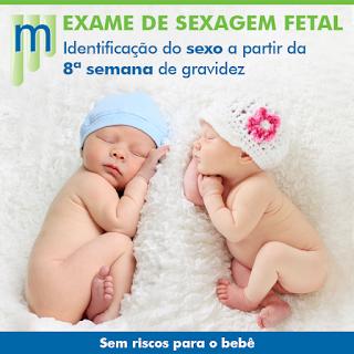 Preco de exame de sexagem fetal