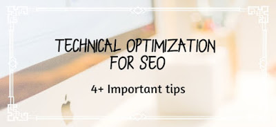 Technical optimization for SEO