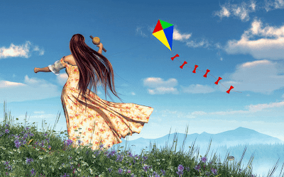 Kite Flying Latest HD Photo Free Download