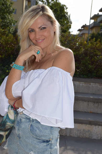 mariafelicia magno fashion blogger color block by felym fashion blog italiani fashion blogger italiane blogger italiane di moda blog di moda influencer italiane anello luca barra bracciali majique ragazze bionde occhi azzurri blondie blonde hair blonde girls