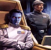 Thrawn főadmirális es Pellaeon kapitány