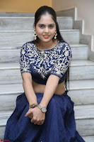 Ruchi Pandey in Blue Embrodiery Choli ghagra at Idem Deyyam music launch ~ Celebrities Exclusive Galleries 041.JPG
