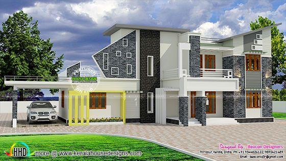 Unique contemporary style villa