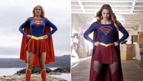 Perbedaan Penampilan Supergirl jaman dulu dan sekarang