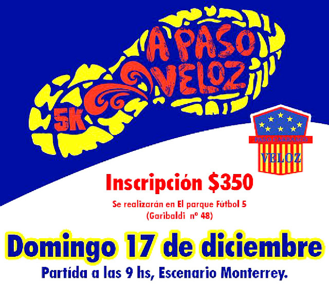 5k A Paso Veloz (Paso Carrasco - Canelones, 17/dic/2017)
