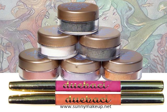Neve Cosmetics - Sisters of Pearl. Ombretti minerali, matite labbra Duebaci.