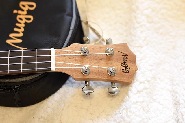 Mugig MUK-2 Concert Ukulele headstock