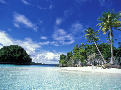 honeymoon beach, rock islands of palau, best beach in the world? thailand