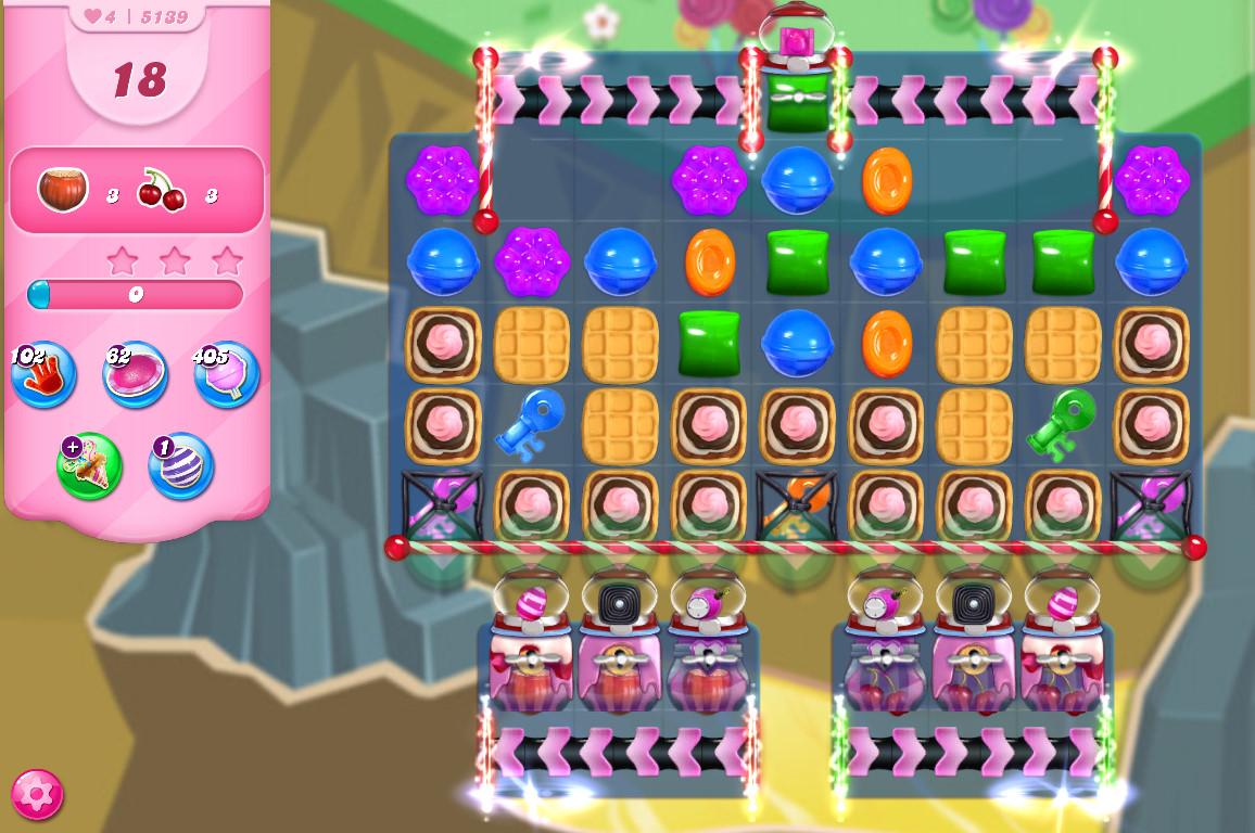 Candy Crush Saga level 5139