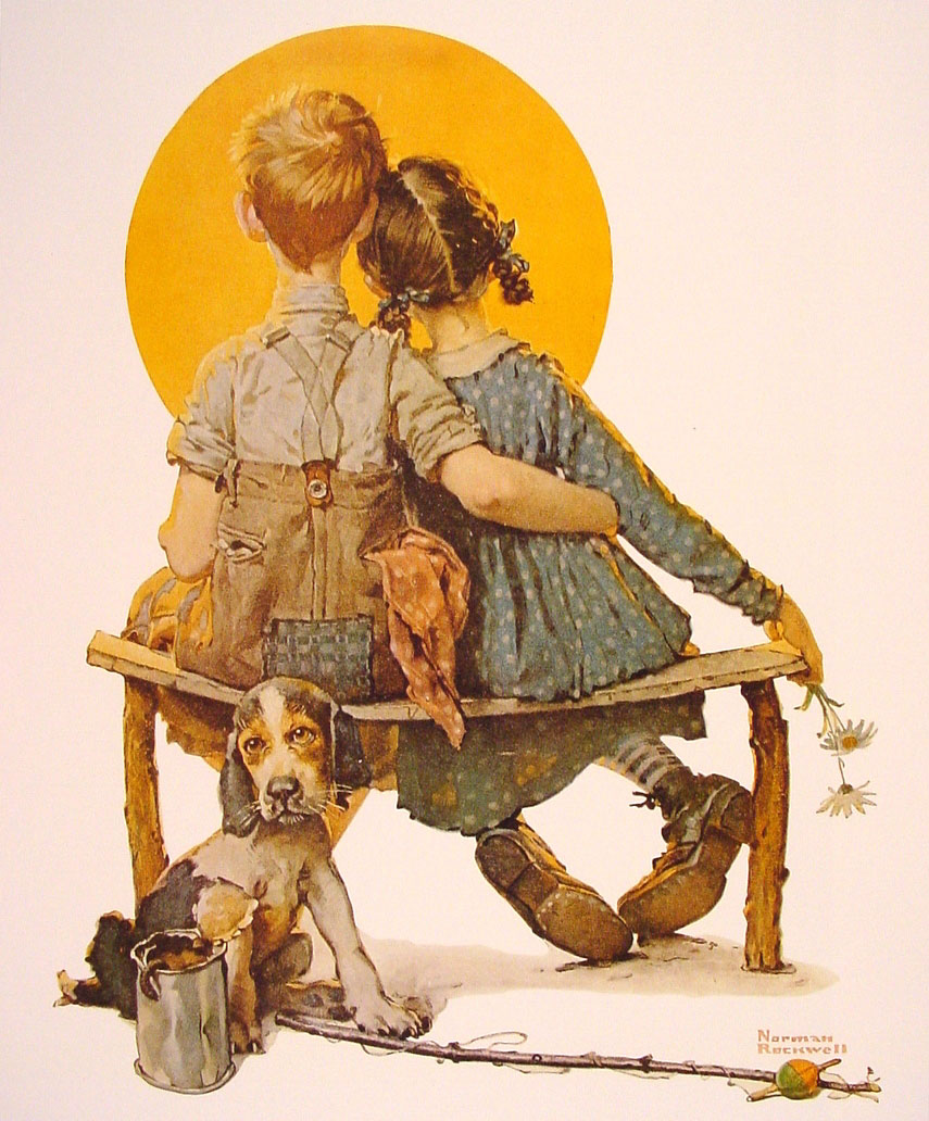 Vacation Norman Rockwell
