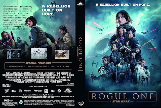 Rogue One: A Star Wars Story DVD Cover