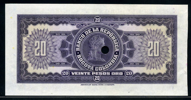 20 pesos oro