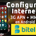 Configurar Internet 3G APN + MMS Bitel Perú 2018 en Android