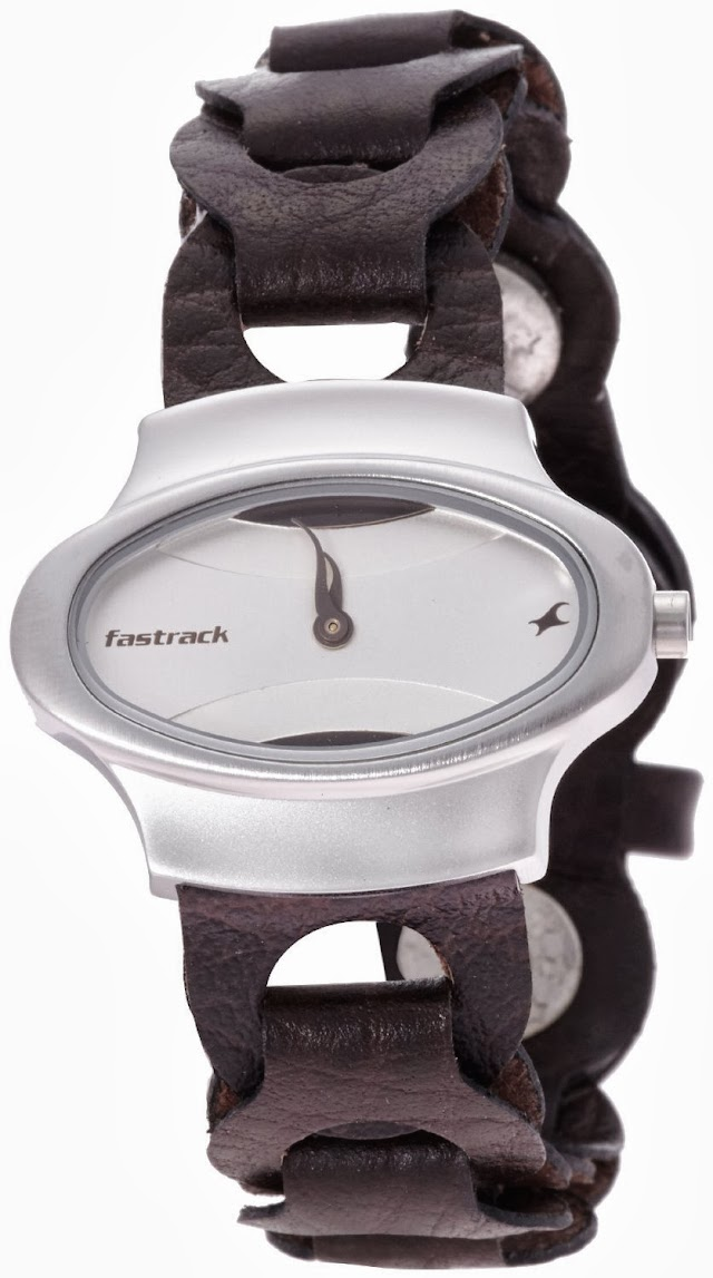 Fastrack  Analog Silver