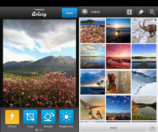 Best Mobile apps for photographers Picasa Tool Pro