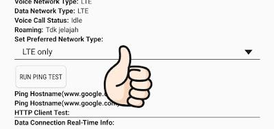 Bagaimana Mengubah Jaringan Menjadi LTE only di Android Menggunakan Aplikasi ( No Root)