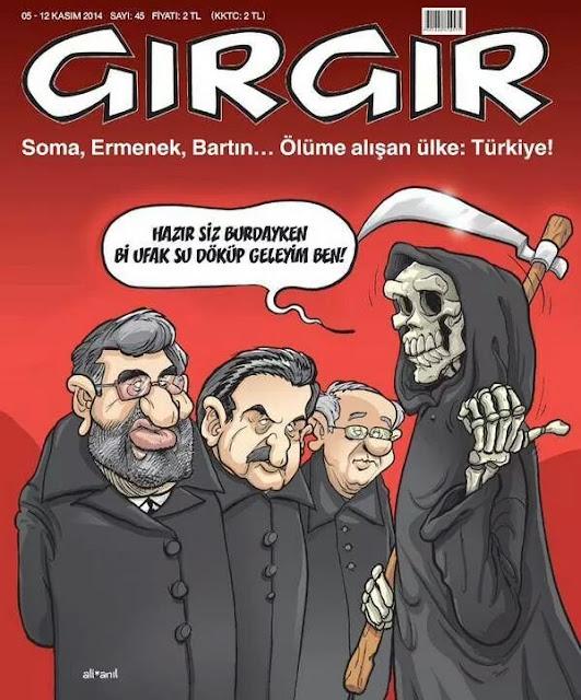 gırgır 05-12 kasım 2014 kapak