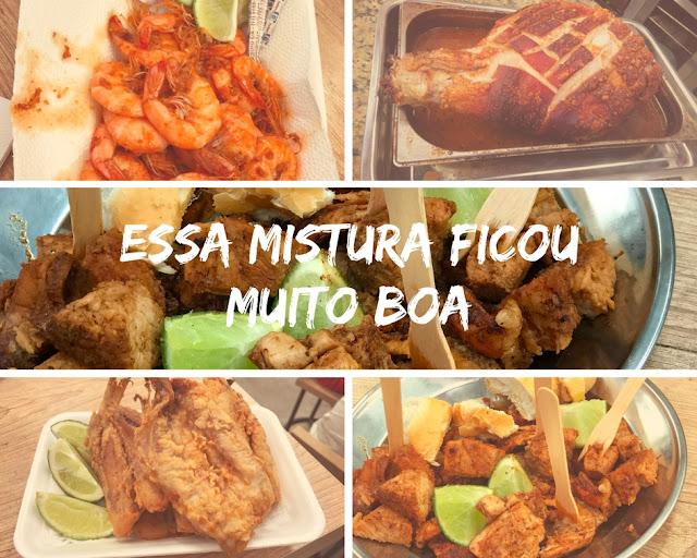 Mercado de Produtores, na Barra da Tijuca. Comida boa e variada
