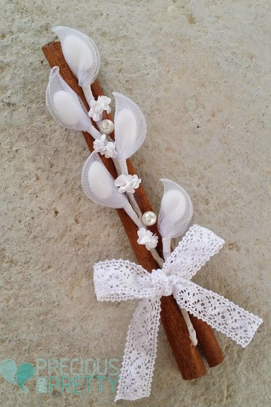 Romantic greek wedding favors