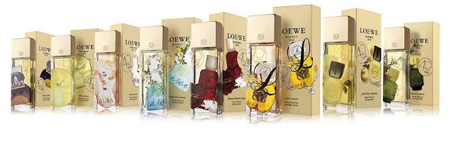 Colección 40 Aniversario Perfumes Loewe. La Alta perfumería con espiritu Español