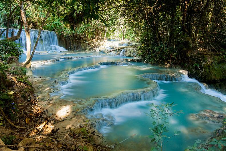 La cascadas Kuang Si | Laos