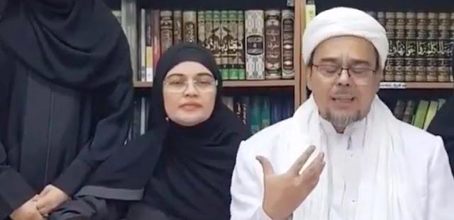 Habib Rizieq Sebut Utusan KJRI Datang setelah Pemeriksaan Selesai