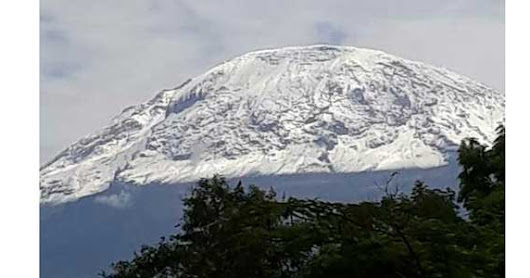 Mount Kilimanjaro snow increased sharply this January 2018, who will climb this time?