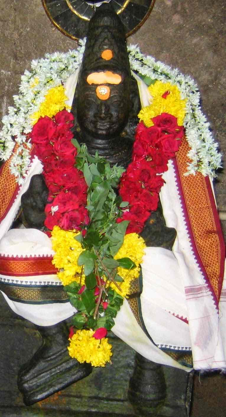 Lord Yama Dharmaraja At Sri Vanchinadhar Swamy Temple