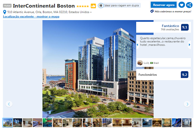Hotel InterContinental em Boston