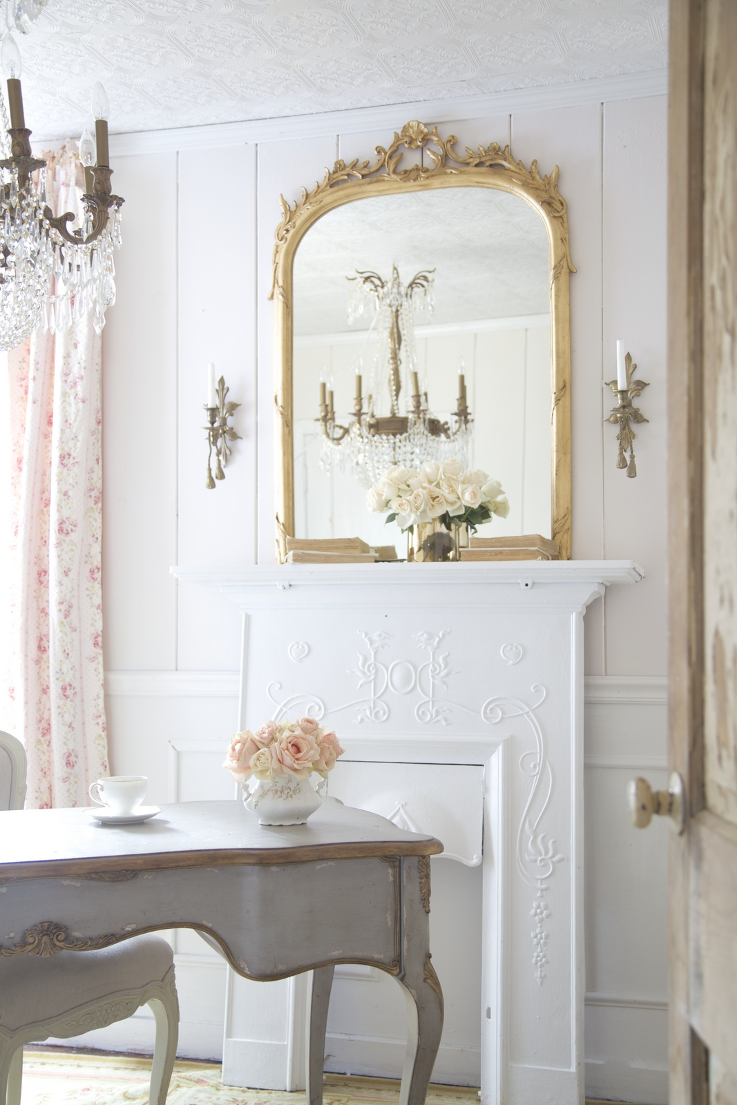Small Vintage Bathroom Ideas French Style Office French Country Cottage