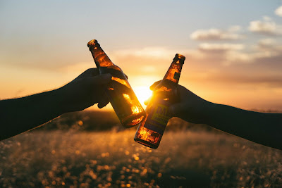 Free stock photos of food and high quality - Beer Sunset free image.
